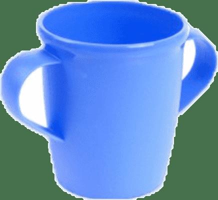 CANPOL Babies Hrníček s oušky BASIC – modrý 250 ml
