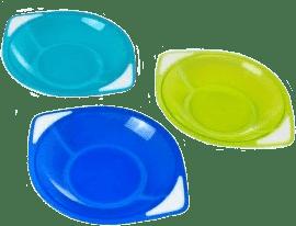 CANPOL Babies Sada troch misek- modrá
