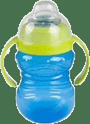 CANPOL Babies Hrnček snehuliak s úchyty- modrý 280 ml