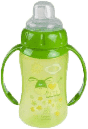 CANPOL BABIES 56/512 Tréningový hrnček s úchytmi 320 ml - zelená