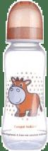CANPOL Babies Fľaša s potlačou 250 ml 0% BPA- ružová