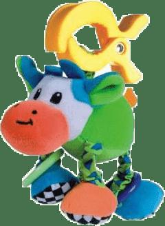 CANPOL Babies Plyšové chrastítko vibrační- kráva