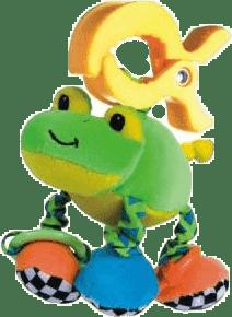 CANPOL Babies Plyšové chrastítko vibrační- žába