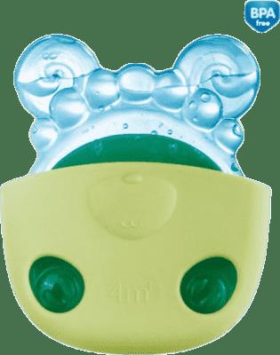 CANPOL Chladiace kousástko zvieratka vo vrecúškach - zelená kapsička