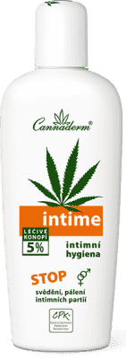 CANNADERM Intime Delikatna emulsja do mycia 150ml