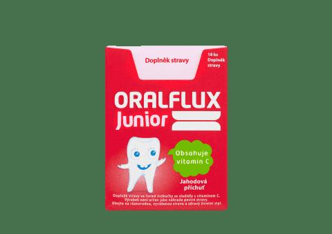 ORALFLUX Junior Gumy do żucia 18 szt.