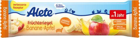 ALETE Tyčinka banánovo-jablčná 25 g