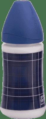 SUAVINEX Fľaša široké hrdlo pp 270 ml cumlík latex - káro