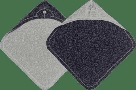 LODGER Osuška Bubbler Cotton – Coal