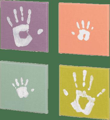 BABY ART Barevná plátna pro otisk Pop Art Print Paintings