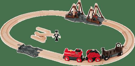 BRIO Kolejka z lokomotywą parową