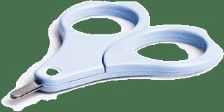 SUAVINEX Nożyczki dla niemowląt – niebieskie