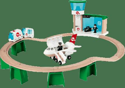 BRIO Nadzemní letištní dráha s letadlem