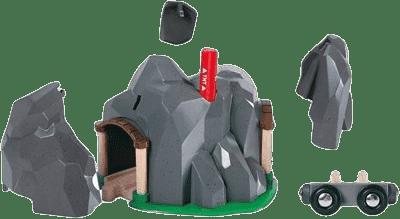 BRIO Tunel s rozbuškou