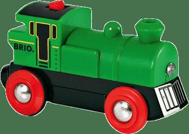 BRIO Elektroniczna lokomotywa zielona