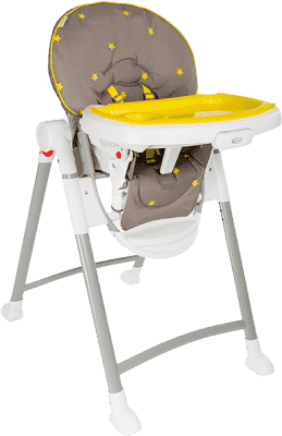 GRACO Jídelní židlička Contempo – Neon Sand