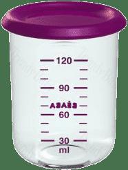 BEABA Kelímek na jídlo 120 ml, fialový