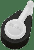 BEABA Penová blokáda dverových pántov 3 ks tlmené farby - čierna