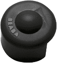 BEABA Ochrana rohů 4 ks tlumené barvy, černá