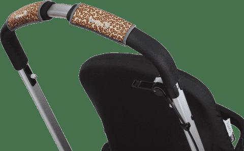 CITYGRIPS Osłonka na rączki wózka. Leopard - pojedyncza rączka