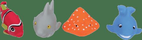LUDI Hračky do vody rybky (4 ks)