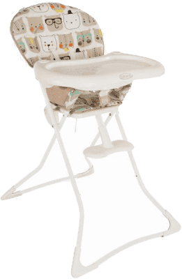 GRACO Jedálenská stolička Tea Time - Bow Tie Bear