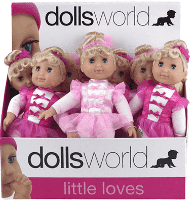 DOLLS WORLD Malá baletka