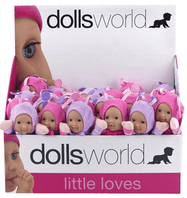 DOLLS WORLD Panenka brouček