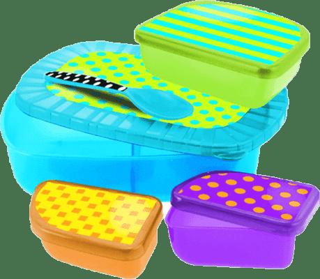SASSY Zestaw pudełek na przekąski