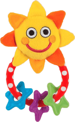 SASSY grzechotka – słoneczko