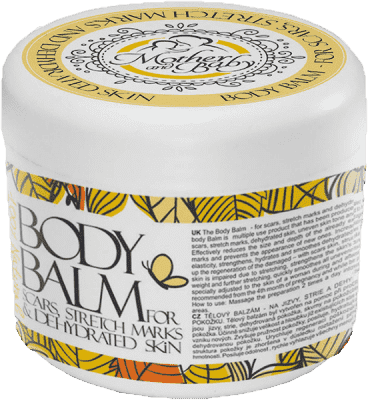 HRISTINA Naturalny balsam do ciała dla mam– na blizny, rozstępy i do odwodnionej skóry 250ml