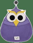 3 SPROUTS Koš na hračky a věci do koupelny Owl