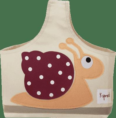 3 SPROUTS Torba na akcesoria dla dziecka Snail