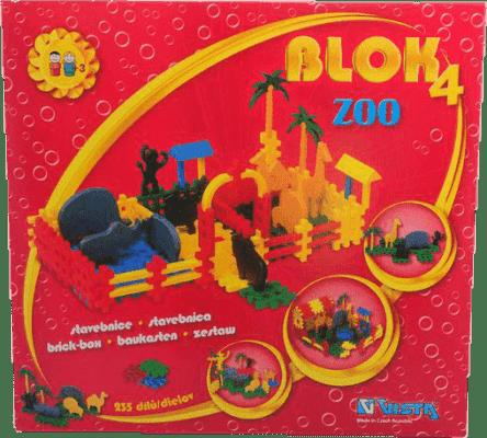 VISTA Stavebnica Blok 4 ZOO - plast 235ks