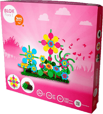 VISTA Stavebnice Blok Flora - 1 126ks