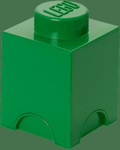 LEGO® Úložný box velikost 1 tmavě zelená