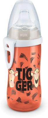 NUK FC Láhev PP Active Cup DISNEY-Medvídek Pú,300 ml,silikon. pítko (12m+) – oranžová tygr