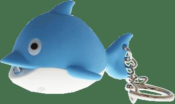 ANSMANN Breloczek do kluczy (dźwięk, światło) Delfin – Feedo klub