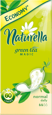 NATURELLA Green Tea Magic Normal, 60ks – intimky