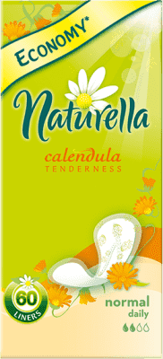 NATURELLA Calendula Tenderness Normal, 60ks – intímky