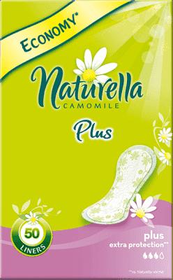 NATURELLA Camomile Plus, 50ks - intímky
