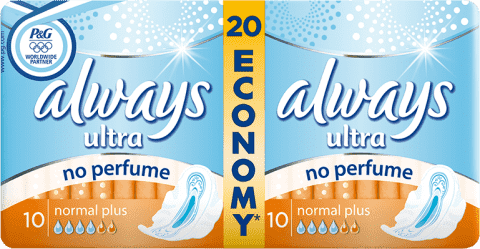 ALWAYS Ultra Normal No Perfume (20szt)