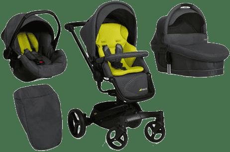 HAUCK Wózek trzyfunkcyjny Twister Trioset lime 2016