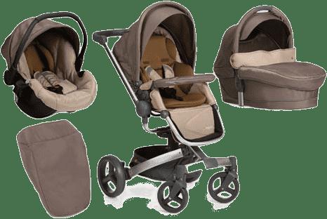 HAUCK Wózek trzyfunkcyjny Twister Trioset sand 2016