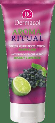 DERMACOL Aroma Ritual - tělové mléko hrozny s limetkou 200 ml