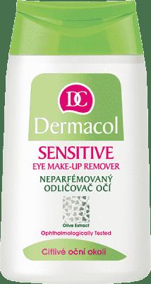 DERMACOL Sensitive neparfémovaný odličovač na citlivé oči 125 ml