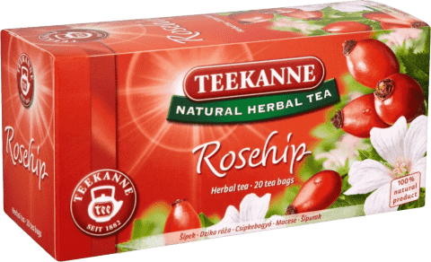 TEEKANNE Šípkový čaj, 20 vrecúšok