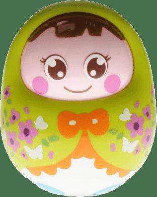 BABY'S HAPPINESS Lalka Rolly Polly – zielona