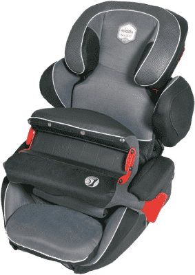 KIDDY Guardian Dětská autosedačka Pro E07 antracit (9-36kg)