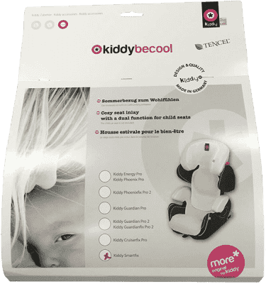 KIDDY BeCool Letné poťah white fit for Kiddy Smartfix
